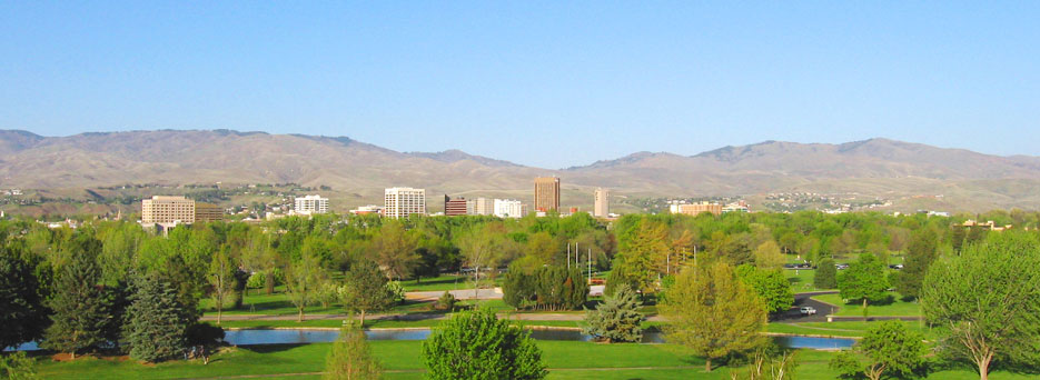 Photo of the boise skyline